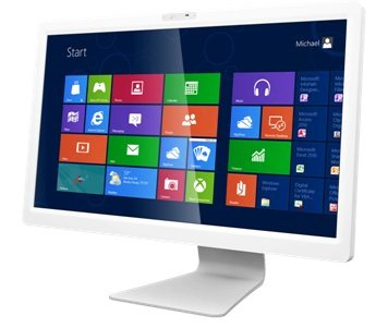 PC All In One UNICO WHITE H110