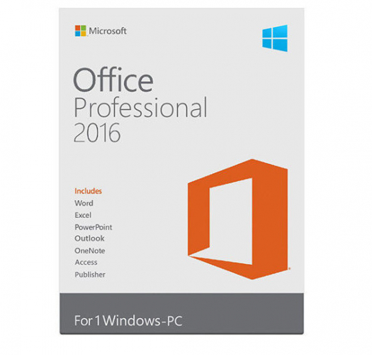 LICENZA MS OFFICE 2016 PROFESSIONAL