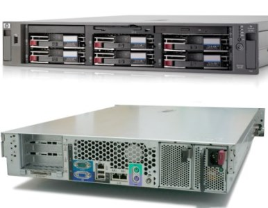 SEREVER HP PROLIANT DL385 G2 DUAL